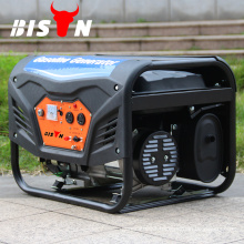 BISON China Taizhou Single Phase Air Cooled 5KW Silent Honda Gasoline Generator with CE