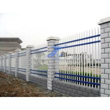 Стальная стена забора с колонкой цемента (ТС-E138)