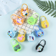 Cute Cartoon Kids Hand Sanitise Travel Keyring Holders
