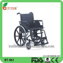 Cadeira de rodas em aço