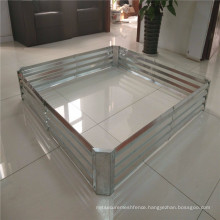 Galvanized Steel Raised Grow Gardening Vegetable Bed and Galvanized steel planting box