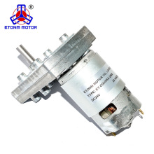 12v 24v customized double shaft robot small dc electric gear motor
