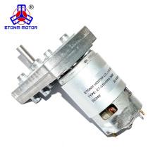 Motor de corrente contínua de alto torque de 100kg.cm de baixa rotação