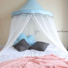 Half  Moon Tent Bedside Ceiling Mosquito Net