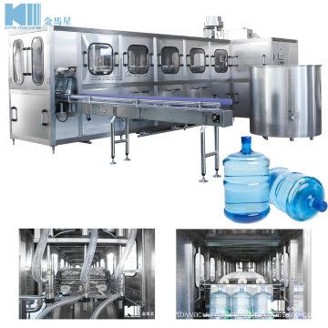 Full-Auto Water Barrel-Filling Production Line / Big Bottle Filling Machine