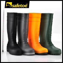 Chaussures de pluie en gelée, gommelettes en caoutchouc naturel, bottes pli pour hommes doux W-6038