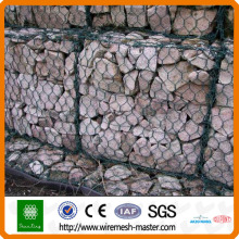 Malla de gaviones de cesta de piedra