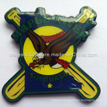 Struck Die Struck Soft Enamel & Epoxy Baseball Pin