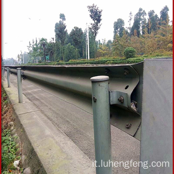 Autostrada Guardrail Round Post