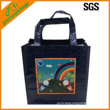eco recycle laminated PP woven tote bag/shopping bag/carrier bag