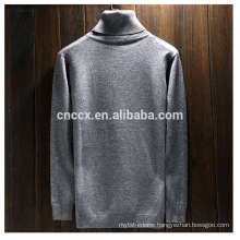 PK17ST441 wholesale turtle neck jumper wool fabric swester for men