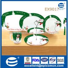 2014 new arrival wholesale ceramic Christmas decoration