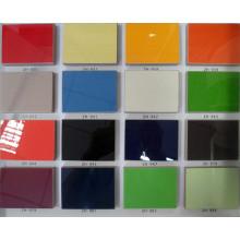 """Высокоглянцевая дешевая ламинат УФ-плиты Меламиновая плита Строительный материал для кухни и мебели (4 """"X8"""")"""