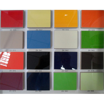 """High Gloss Cheap Laminate UV Boards Melamine Board Building Material for Kitchen & Furniture (4""""X8"""")"""