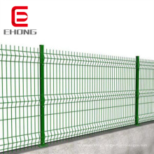 2x4 4x4 3D curved welded wire mesh fence