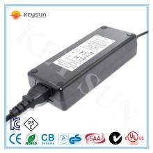 Entrada 90-264v 120w adaptador de corrente alternada 220v a 12v 10a adaptador de alimentação UL1310 Certificação