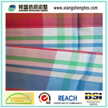 Pure Cotton Fabric with Plaid