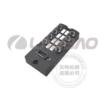 Distribution Box M8 Connector 8 Channels 3 Ports PNP D-SUB