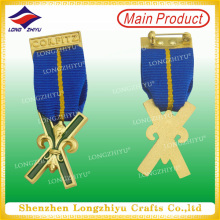 3D kundenspezifisches Militärart-Metallabzeichen mit Sicherheitsnadel (LZY00016)