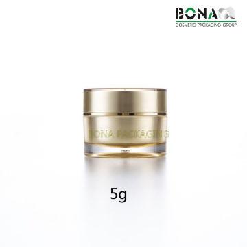 5g 10g 25g 30g Embalagem acrílica de pequeno frasco com cosméticos