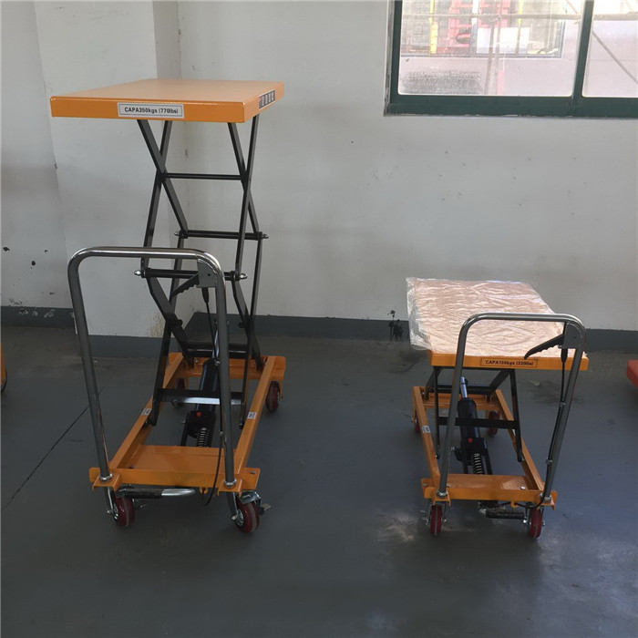 Mobile Single Scissor Lift Tables