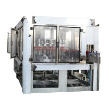 Bottle Liquid Washing Filling with Foil Sealing Machine