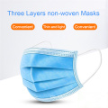 Protect Mask Einweg-3-Lagen-Vlies-Sugical-Gesichtsmasken