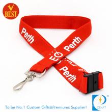 Gewohnheit Versicherung Personal Lanyard mit gedruckten Logo.