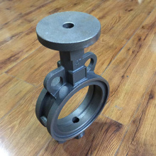Iron casting butterfly valve body
