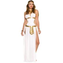 Halloween Festival Cleopatra Cosplay Babydoll Long Shirt Elegant Lingerie Sexy G-string Underwear