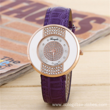 Dior Luxury Leather Quartz Watch