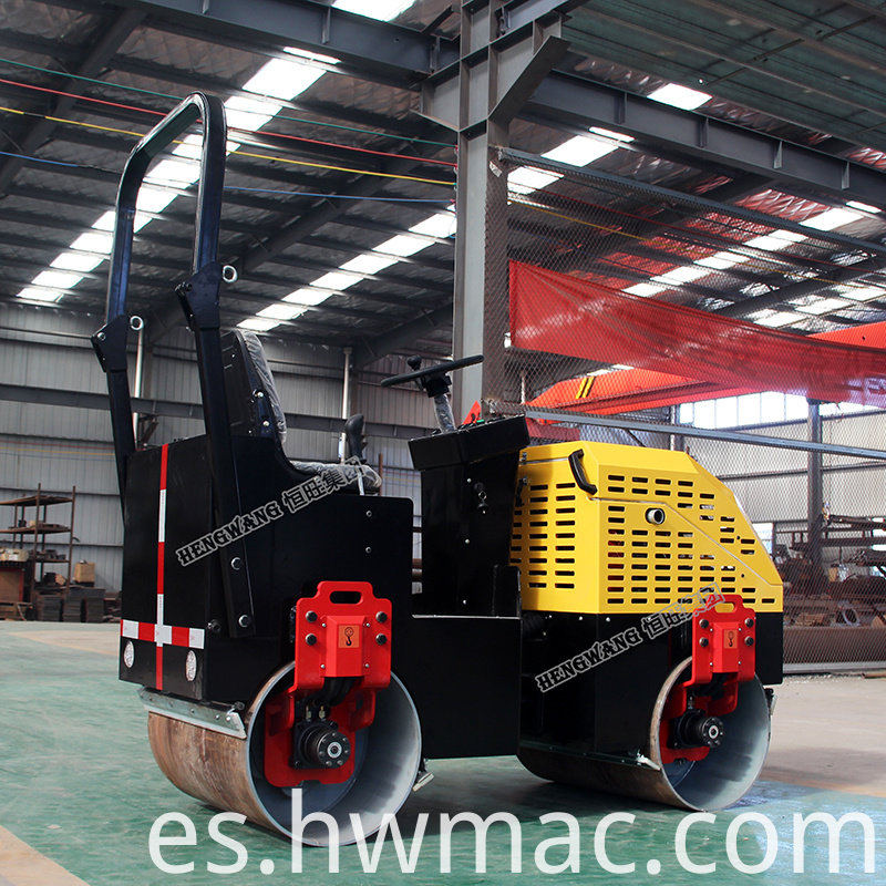 Vibration-frequency-double-drum-soil-compactor-road (4)