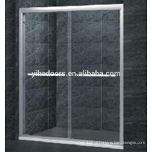 Porta de vidro moderada do chuveiro da porta deslizante de 8MM