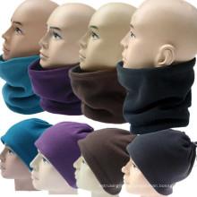 New 3 in 1 Multifunctional Scarf Unisex Men Women Thermal Warm Fleece Snood Scarf Neck Warmer Beanie Ski Balaclava Hat