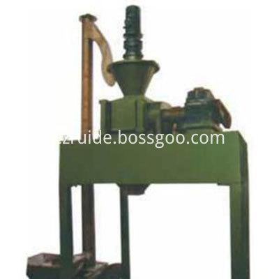 Inorganic fertilizer compact powder machine