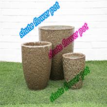 внутренний двор натуральный фиолетовый песок дышащий цветочный горшок