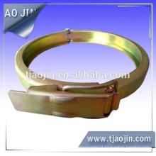 Braçadeira de tubo personalizado, grampo de mangueira de tipo calha personalizável, braçadeira de mangueira especial