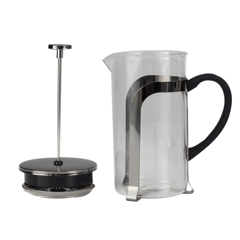 Coffeeshop Glass French Press Coffee Maker Tea Maker