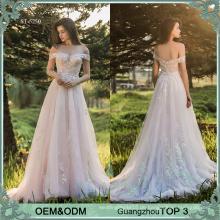 Fairy Stil rosa Abendkleider vestidos de quinceanera Kleider Ballkleid