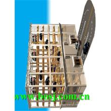 Galvanized Bottom Plate Stereo Garage Roll Forming Machine Supplier Korea