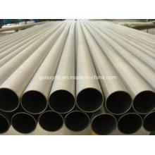 Titânio puro soldada tubo para trocador de calor