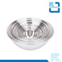 Alta qualidade multi-tamanho SGS aço inoxidável mistura profunda Bowl Set