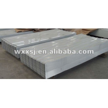 Feuille de toiture en acier trapézoïdales en aluminium