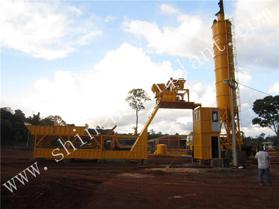 25 Winter Concrete Batching Plant
