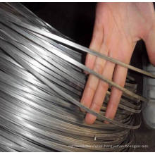 Fence Oval Wire for Cattle Farm and Galvanized Flat Wire