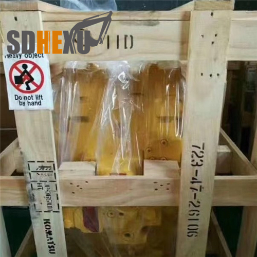 PC200-7 PC200-8 excavator undercarriage parts front idler 20Y-30-00321 idler