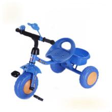 Blue Color Tricycle pour enfants, tricycle pour enfants, tricycle pour bébés