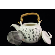 Hot sale 600cc Chinese Traditional Calligraphy Tea Pot