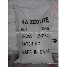 La zéolite 4A en Chine