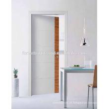 Precio al por mayor interior de la puerta rasante, puerta interior de madera